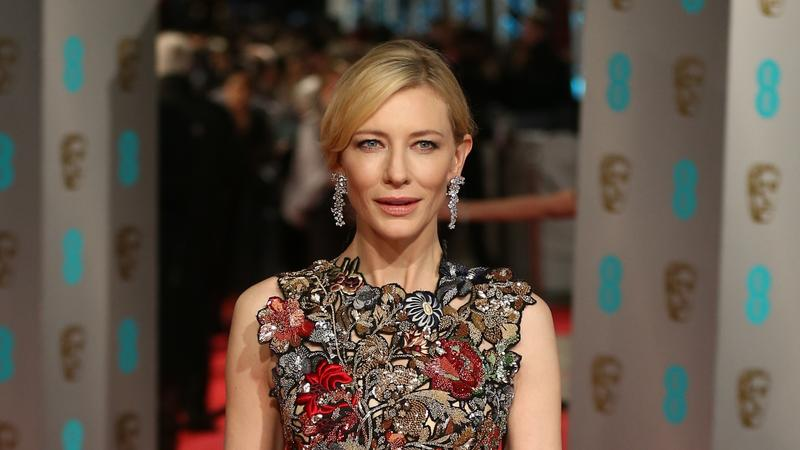 Alexander McQueen ruhájában Cate Blanchett tetszett a legjobban / Fotó:AFP