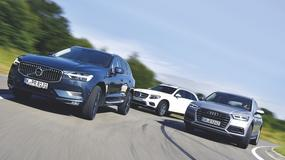 Nowe Volvo XC60 vs nowe Audi Q5 i Mercedes GLC - który SUV będzie lepszym wyborem?
