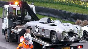 Mercedes kontra Jaguar: Kraksa za 5 milionów funtów