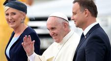ŚDM 2016: Papież Franciszek już w Krakowie. Papież jedzie na Wawel