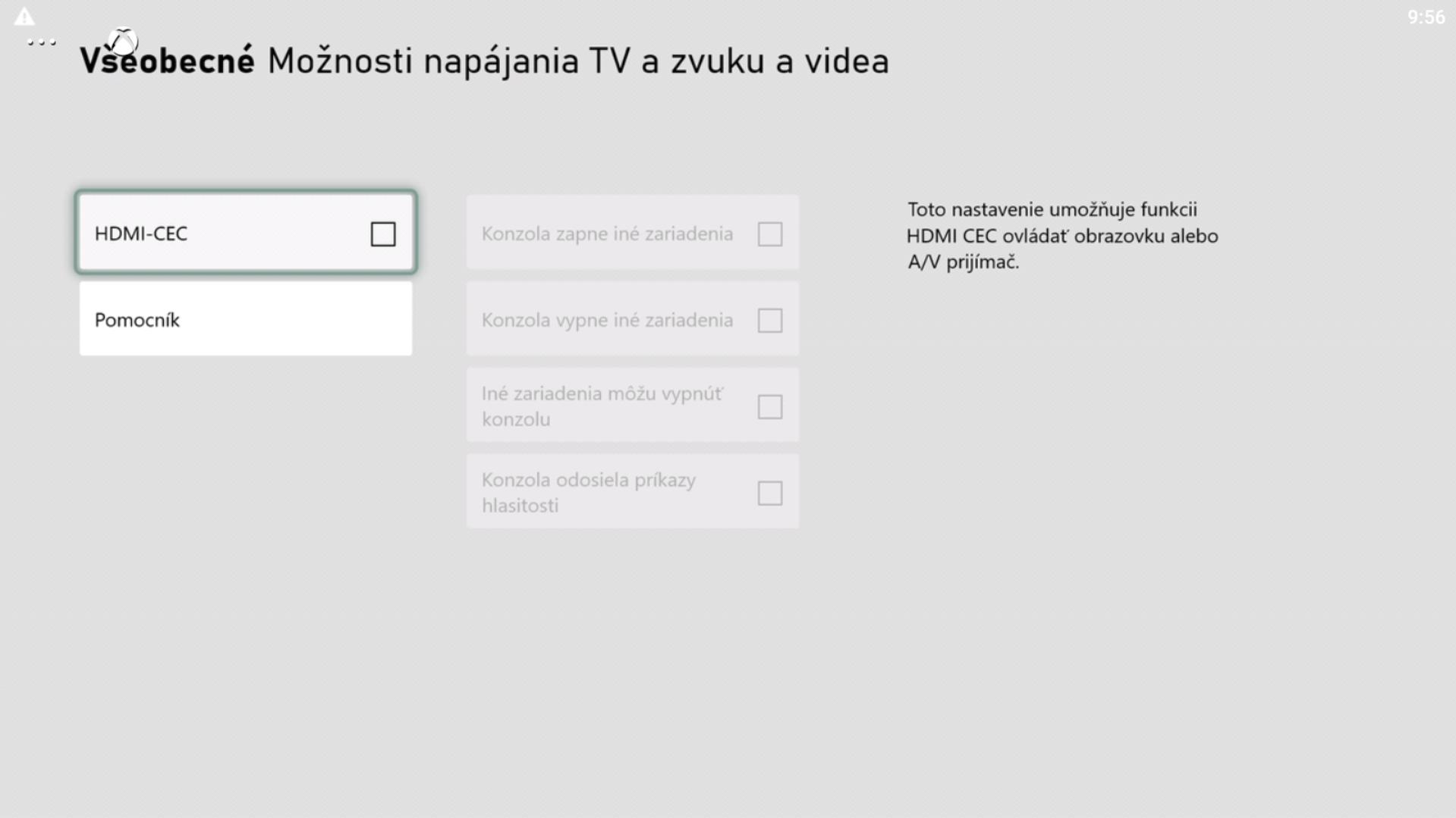 """Prejdi do sekcie """"Režim napájania a spustenie"""" a potom vyber """"Možnosti napájania TV a zvuku a videa""""."""