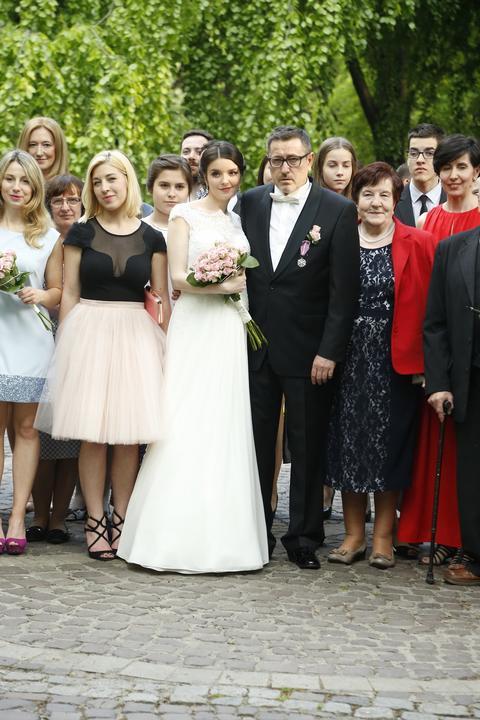 Andrzej Sołtysik i Patrycja Czop wzięli ślub w Krakowie - Film Katie Holmes Jamie Foxx