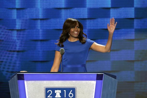 Best Look: Michelle Obama w sukience Siriano