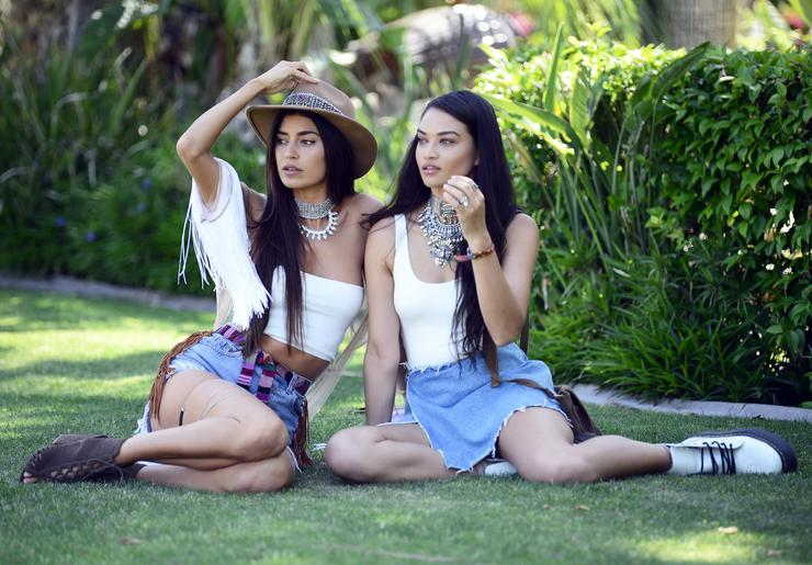 Shanina Shaik and Nicole Williams /Fotó: Northfoto