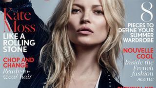 """Kate Moss na swojej 37. okładce brytyjskiego """"Vogue"""""""