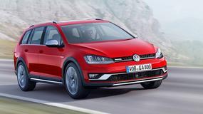 Volkswagen Golf Alltrack na cztery łapy