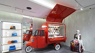 Letni projekt Fendi, czyli mobilny butik