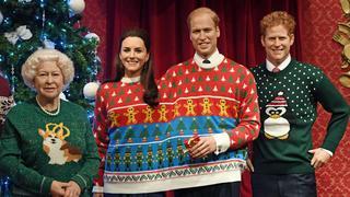 Brytyjska rodzina królewska w kiczowatych swetrach