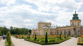 Pałac w Wilanowie i jego ogrody po rewitalizacji