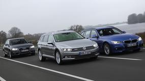 Volkswagen Passat kontra Audi A4 i BMW serii 3 - Które kombi okaże się najlepsze?