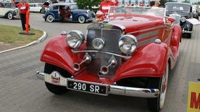 Zabytkowe Mercedesy w Łodzi – zlot w Manufakturze