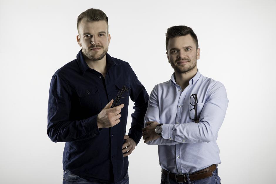 Założyciele MUSCAT - Paweł Porucznik i Dawid Winter