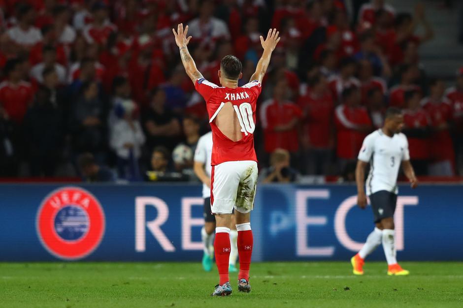 Mecz Francja–Szwajcaria