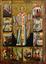 Św. Mikołaj, poł.XVI w., ikona z nieistniejącej drewnianej cerkwi w Dubovej (od 1906 r.w kolekcji MSB).