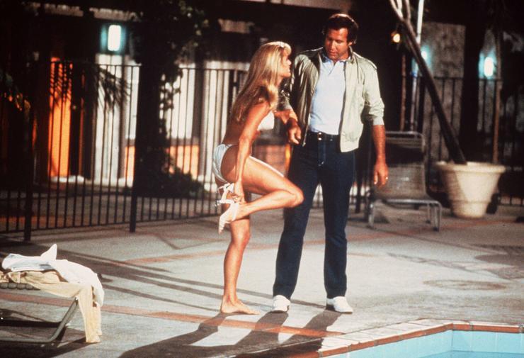 1983-ban feltűnt a Családi vakációban, Chevy Chase oldalán / Fotó: AFP