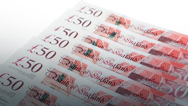 Bank of England oznajmił, że zamierza wycofać z obiegu 50-funtowy banknot
