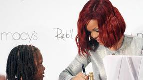 Rihanna promuje swoje perfumy