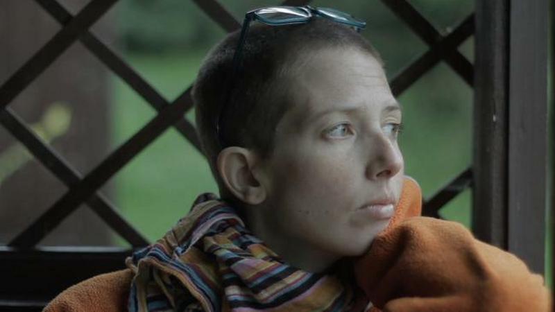 """""""Chustka"""" (reż. Aneta Kopacz) - kadr z filmu"""