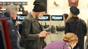 Grzegorz Krychowiak przyłapany na zakupach