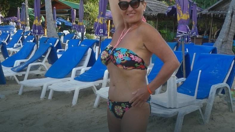 Ewa Kasprzyk w bikini. Jak wygląda?