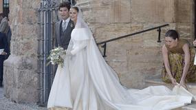 Bajeczna suknia ślubna Charlotte Wellesley