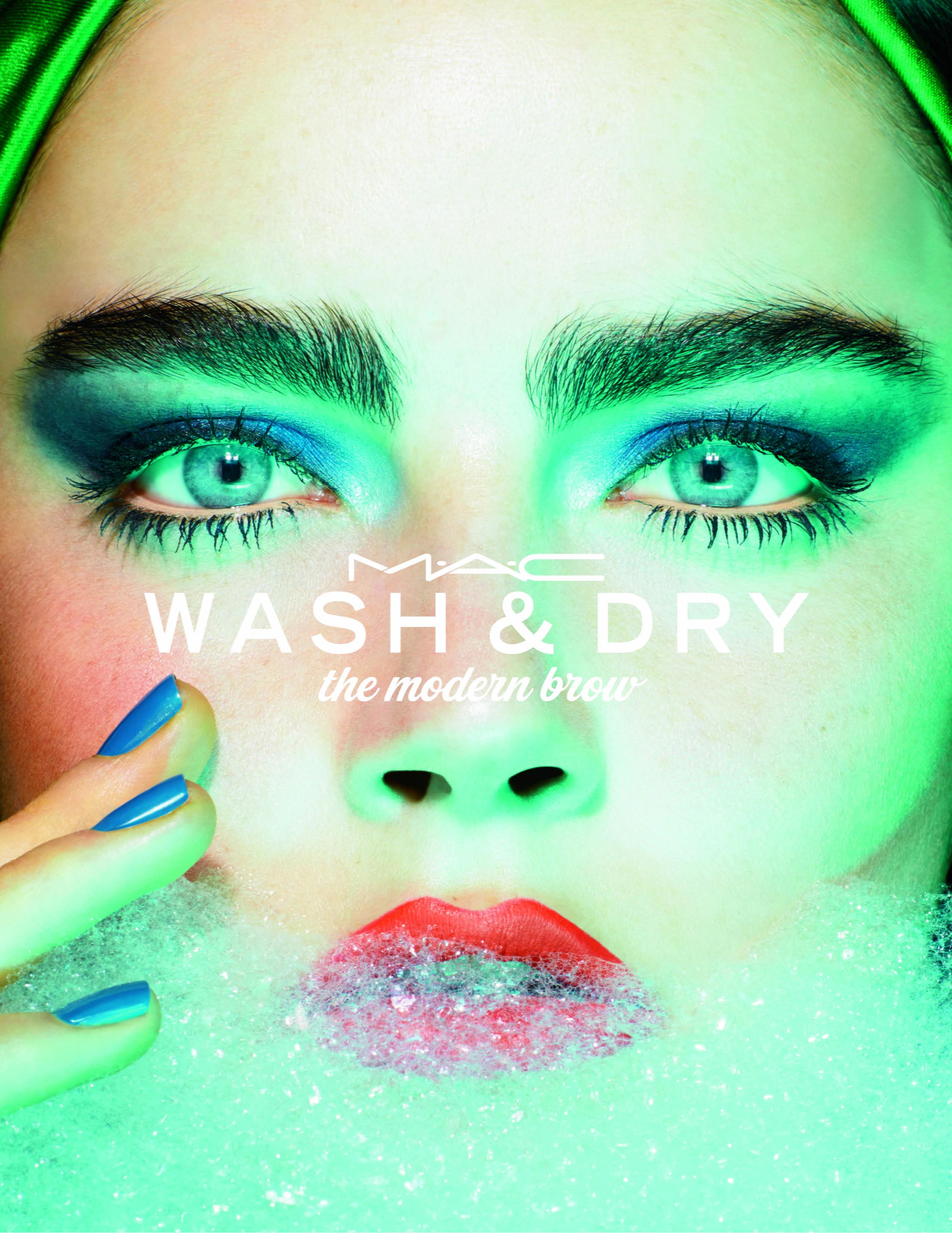 Mac cosmetics коллекция макияжа wash & dry 2015 glam.