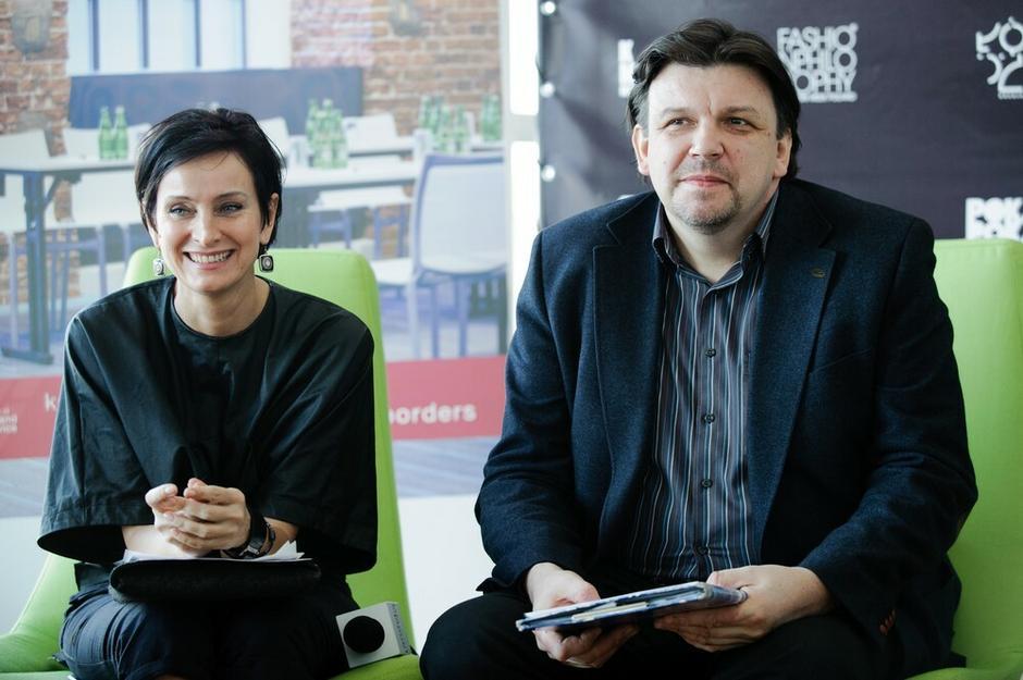 Irmina Kubiak i Jacek Kłak z agencji Moda Forte