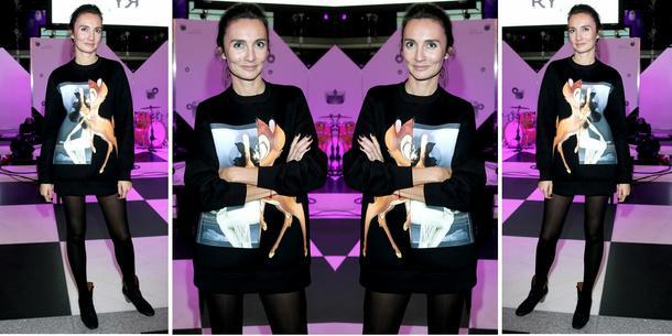 Best Look: Dominika Kulczyk-Lubomirska w bluzie Givenchy