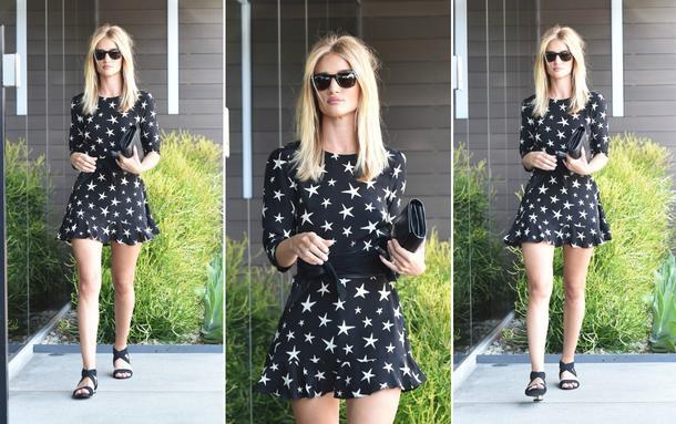 Best Look: Rosie Huntington-Whiteley w sukience Réalisation
