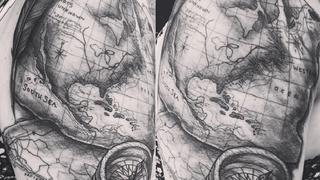 Tatuaże inspirowane podróżami