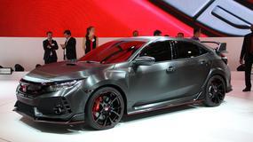 Honda Civic Type R - jeszcze koncept? (Targi Paryż 2016)