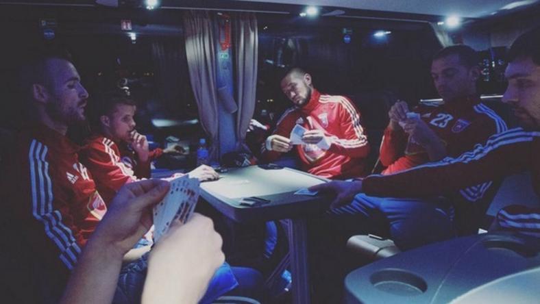 Lazított a Videoton hazautazás előtt/Fotó: Instagram
