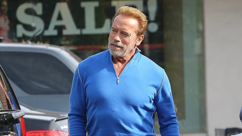 Néha Arnold is elfárad /Fotó: Northfoto