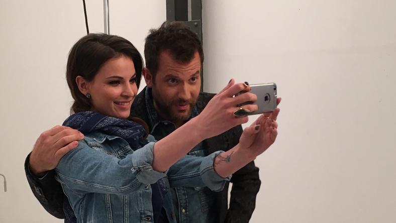Anikó és Zé már készülnek a műsorra /Fotó: RTL Klub