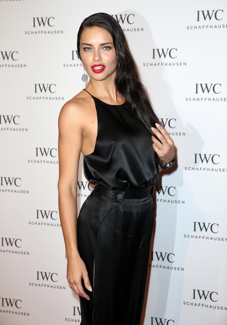 Adriana Lima Modelka Victorias Secret Na Imprezie Iwc Vumag