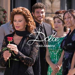 Sophia Loren promuje nowy zapach Dolce & Gabbana