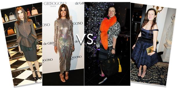 Carine Roitfeld vs. Katie Grand