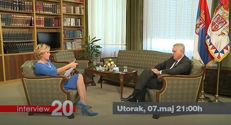 "Tomislav Nikolić u emisiji ""Interview 20"""