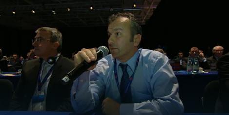 Dejan Savićević na Kongresu UEFA