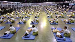 Tajlandia - masaż na rekord do Księgi Guinessa