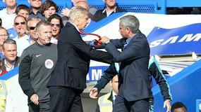 Internet śmieje się z szarpaniny Wengera i Mourinho
