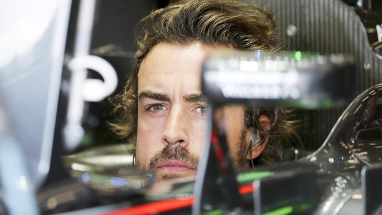 Fernando Alonso /Fotó: MTI