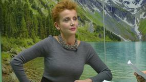 """Kasia Zielińska na planie """"To nie koniec świata"""""""