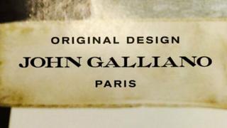 Nowe logo = nowa twarz Johna Galliano