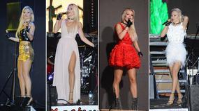 Doda w kilku stylizacjach podczas jednego koncertu. Która najlepsza?