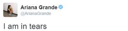 Gwiazdy reagują na wygraną Donalda Trumpa: Ariana Grande na Twitterze
