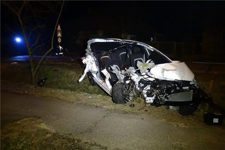 Halálos baleset történt az éjszaka Tiszakécske-Tiszabögön /Fotó: MTI