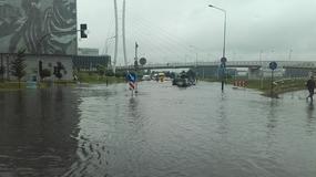 Poznań zalany. Przez miasto przeszła gwałtowna burza