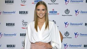 Agnieszka Kaczorowska otworzyła szkołę tańca. Kto przyszedł jej kibicować?