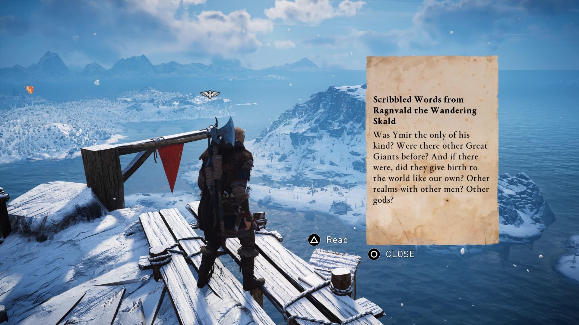 Časť hry odohrávajúca sa v Nórsku pripomenie potulky Skyrimom. Chýbajú už len draky.